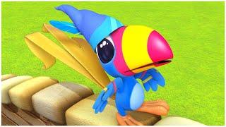 رومبا و اللون الأزرق | الدنيا روزي  | أفضل الرسوم المتحركة للأطفال | قصص للأطفال | حلقات كاملة