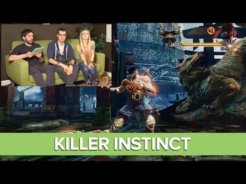 Let's Play Killer Instinct - Xbox One Gameplay Live with Julia Hardy