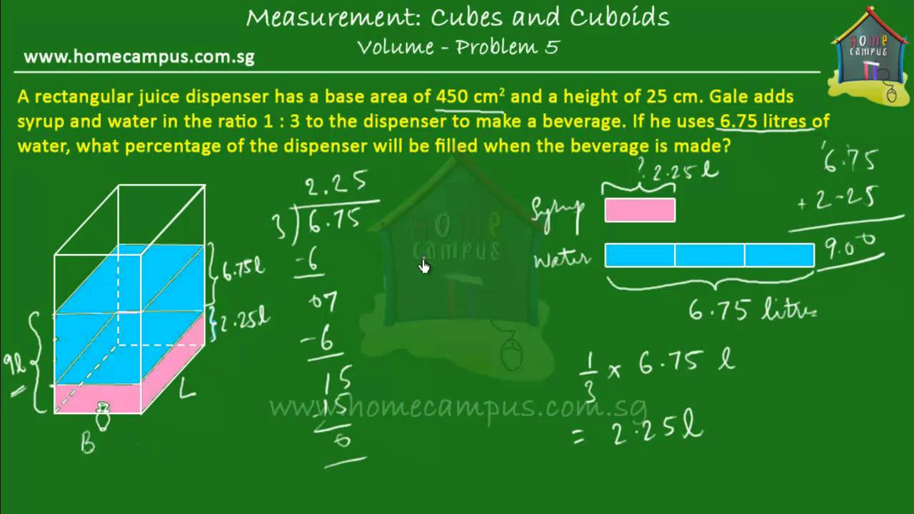Volume Of Cubes And Cuboids (with Videos, Worksheets, Solutions, Activities)
