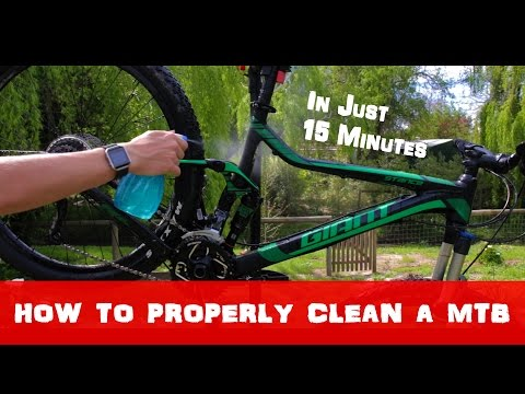 How to Properly Clean A MTB in Just 20 Minutes!!