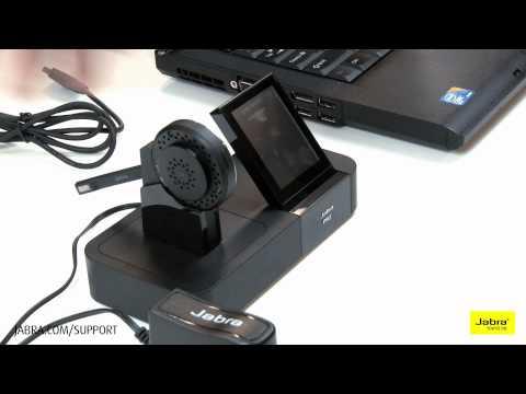 How To Setup Jabra Pro 9460 70 Headsets Youtube
