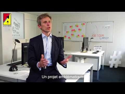 JOBTOUR by ALTEN 2018 : l'Accélération Digitale  Interview de Didier Bonnet