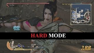 Dynasty Warriors 8 - Gameplay with Hard Mode on Hard Mode in Hard Mode
