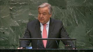 UN Chief on Climate and Sustainable Development for All