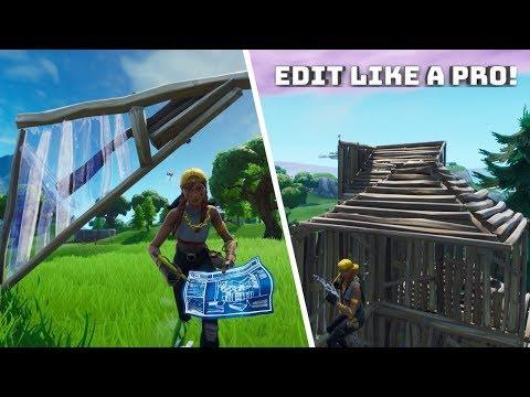 Learn to EDIT like a PRO - (Fortnite Battle Royale!)