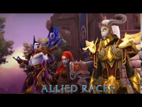 how to get the new wow races