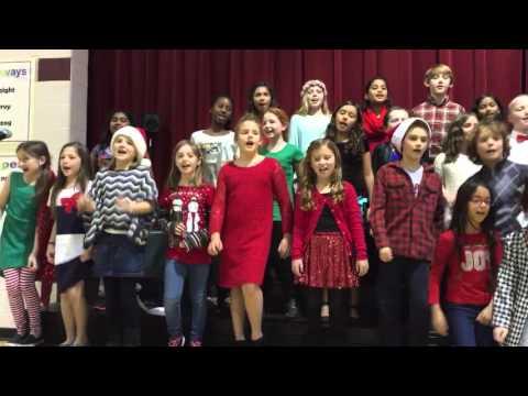 Reva singing at Holiday Concert - Part 2 - Kenrose Elementary School