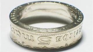 Самодельное кольцо из монеты.