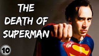 Top 10 Cancelled DC Superhero Films We Will Never See
