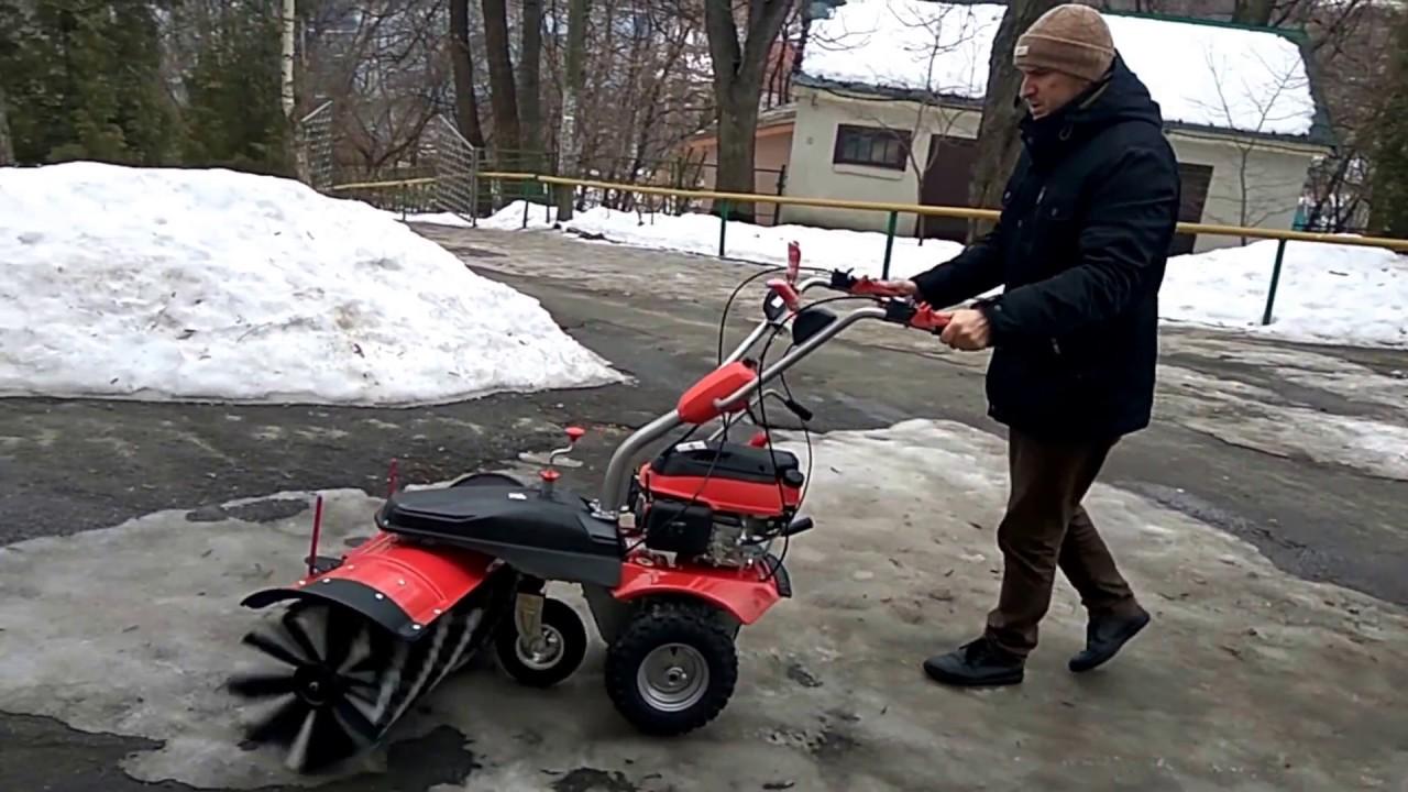 Коммунальная техника: садовый трактор газонокосилка с боковым .