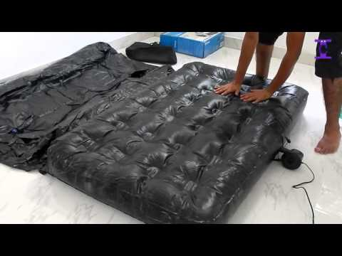 Black 5 In 1 Sofa Inflatable Bestway Air Bed | How to setup