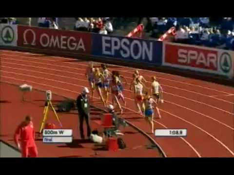 Командний чемпіонат Європи 2010 р. 800 м (Наталія Лупу)