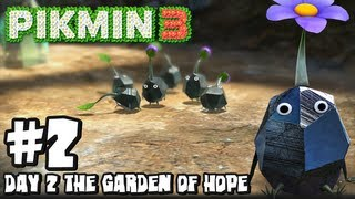 Pikmin 3 (2048p) - Part 2 - Day 2 The Garden Of Hope