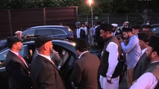 Hazrat Mirza Masroor Ahmad - Arrival In Germany