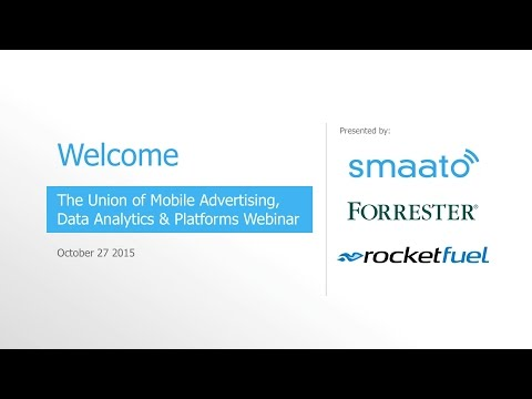 [Webinar] The Union Of Mobile Advertising, Data Analytics, And Platforms
