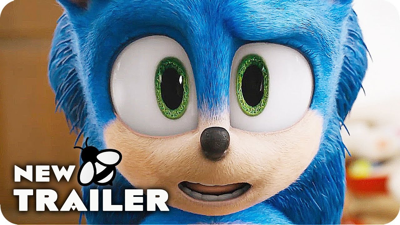 Sonic The Hedgehog Trailer 2020 New Design Youtube