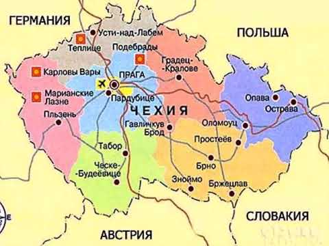 карта праги с достопримечательностями на русском