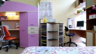 видео Детский диван НИЛЬС дешево с фабрики