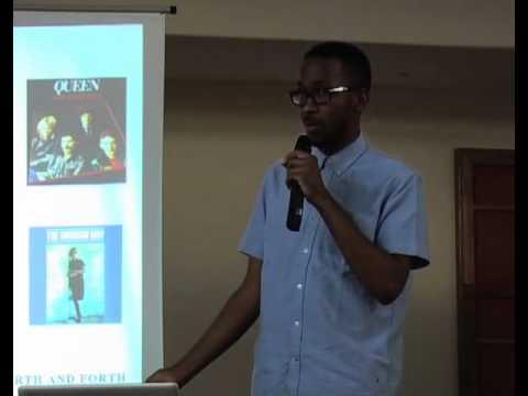 The Scare Tactics of Spoek Mathambo: Spoek Mathambo at TEDxSoweto 2011
