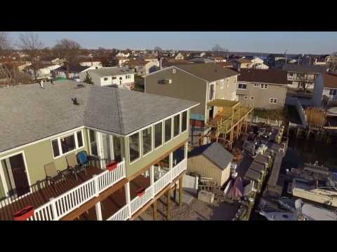 HD Drone Footage of Freeport, NY April 14, 2017 6:27 PM