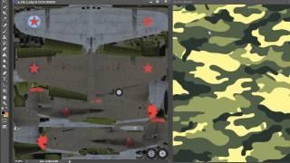 пользовательский камуфляж самолётов War thunder в патче 1.39