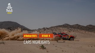 #DAKAR2021 - Stage 4 - Wadi Ad-Dawasir / Riyadh - Car Highlights