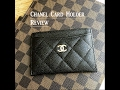Chanel Card Holder Review!