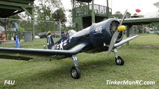 ziroli giant scale f4u corsair flight