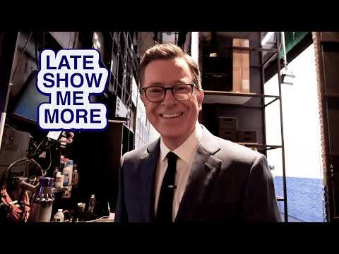 LATE SHOW ME MORE: Don't Touch!