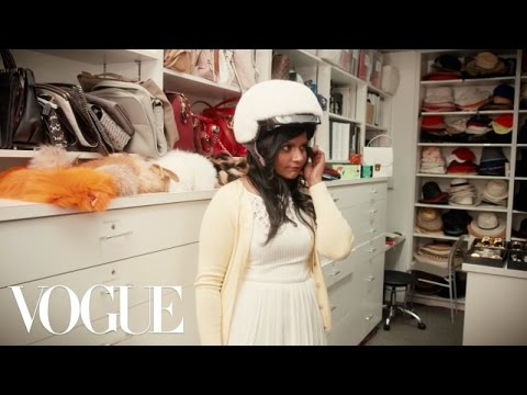 Mindy Kaling Visits the Vogue Closet for a Fitting - Vogue Original Shorts