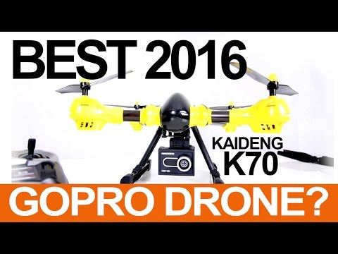 BEST DRONE FOR A GOPRO - KaiDeng K70C Sky Warrior Review