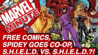 Free Comics, Spidey Goes Co-op, & S.H.I.E.L.D. vs. S.H.I.E.L.D.?! - Marvel Minute 2015