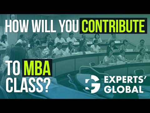 Видео Mba essay contribution to school