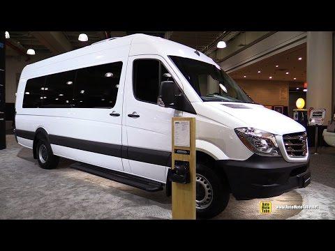 2016 Freightliner 3500 Cargo Van 170 Ext Exterior and Interior Walkaround 2017 NY Auto Show
