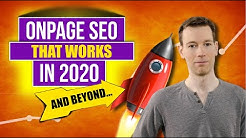 On Page SEO Ranking Factors 2019