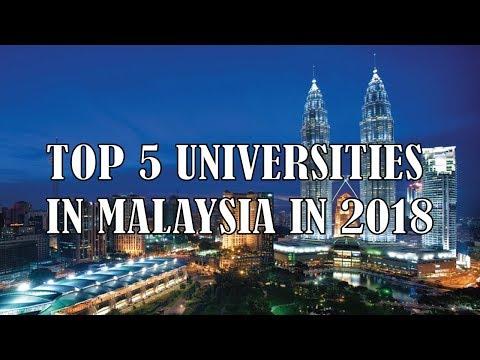 Top Universities in Malaysia | Best 5 Top Universities in Malaysia in 2018