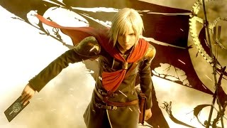 Final Fantasy Type-0 HD - Character Combat Demonstrations