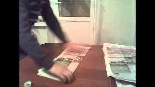 видео как сделать дымовую шашку из селитры
