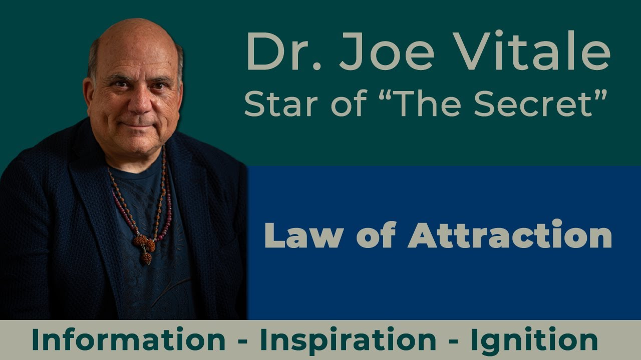 Dr. Joe Vitale - Law of Attraction tips - Your BELIEFS Become Your REALITY