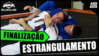 Jiu-Jitsu - Finalização Estrangulamento das Costas - Junior Monteiro - BJJCLUB