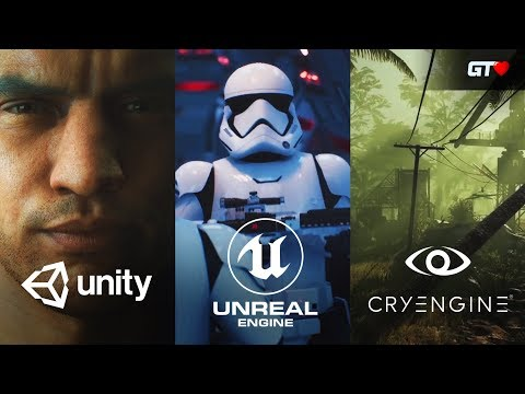 Game Engine Trailers and Showcases -  GDC 2019 [UNITY, UNREAL ENGINE, CRYENGINE]