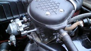 (Авто-подсос) Холодный пуск на карбюраторе ваз 2108