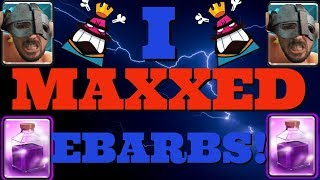 I MAXXED EBARBS!! eBarb Rage is Absolutely HILARIOUS!!???? DOMINATE LADDER with this INSANE DECK!!