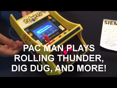 Turning A My Arcade Pac Man Micro Player Into A MULTI GAME Machine Hack Mod