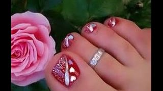 Howto Style:- Easy Toe Nail Art Design