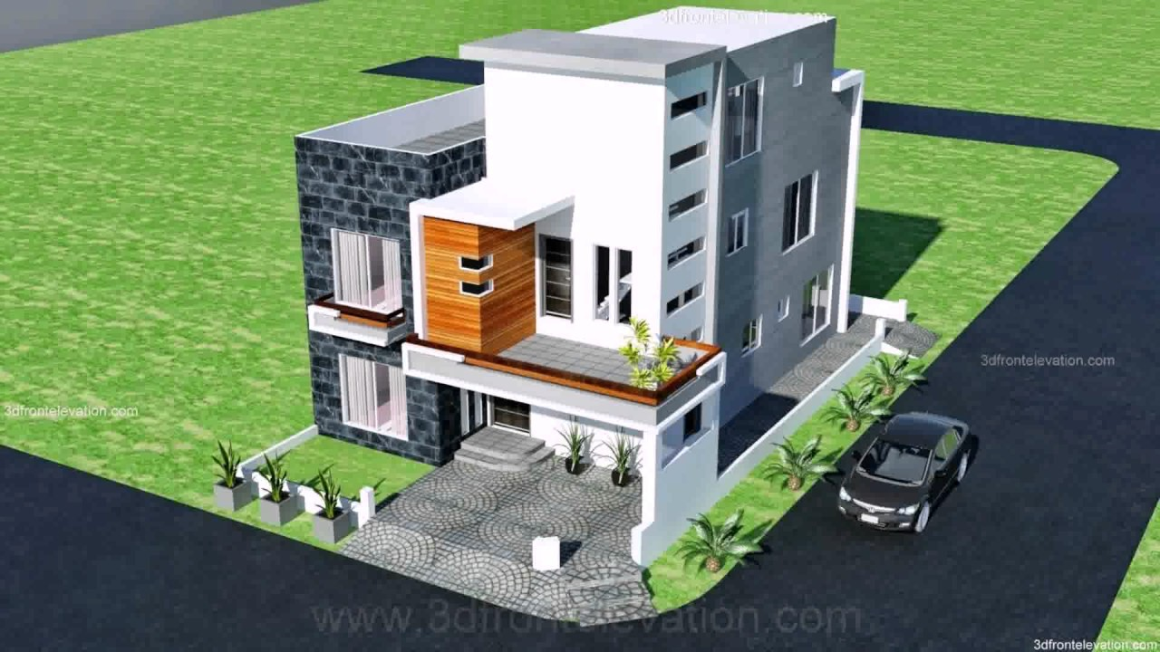 7 marla house map design youtube for Map of kothi design
