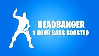 FORTNITE HEADBANGER DANCE (1 HOUR BASS BOOSTED)