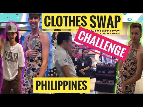 EXTREME CLOTHES SWAP CHALLENGE IN THE PHILIPPINES