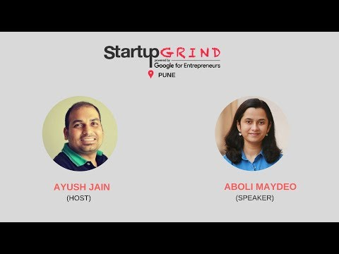 Startup Grind Pune hosts Aboli Maydeo