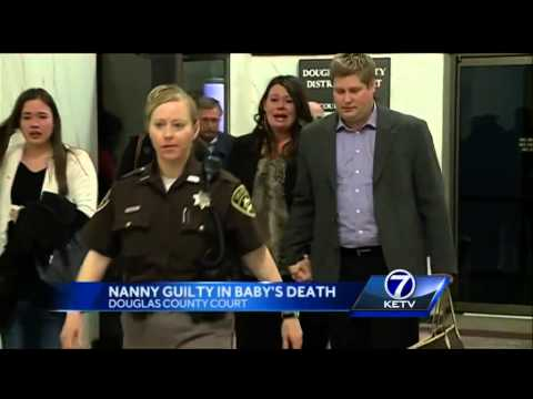 Convicted nanny faces 20 years to life in prison